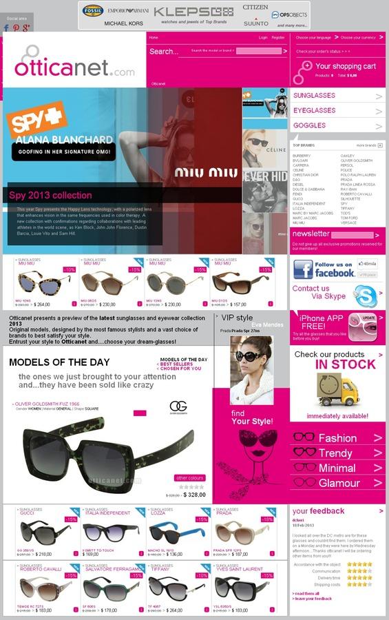 Otticanet.com - очки из Италии на все случаи жизни / Вики ...