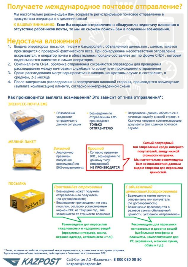 инструкция о почте