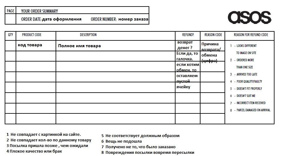 Бланк Возвратной Накладной Скачать Бесплатно В Excel - фото 7
