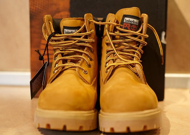 Imberland Steel Toe Shoes