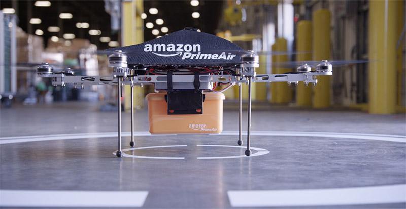 Глава Amazon анонсировал доставку посылок беспилотниками / Вики и ...
